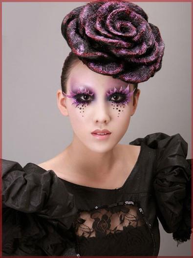 创意彩妆造型可爱清新